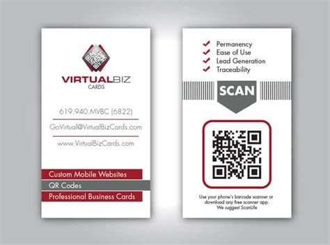 40 Creative Uses Of Qr Code In Business Card Round Business Cards Size Free At Staples Quick Uk Online India Standard Vs Premium Card Printer Visiting Design Vistaprint