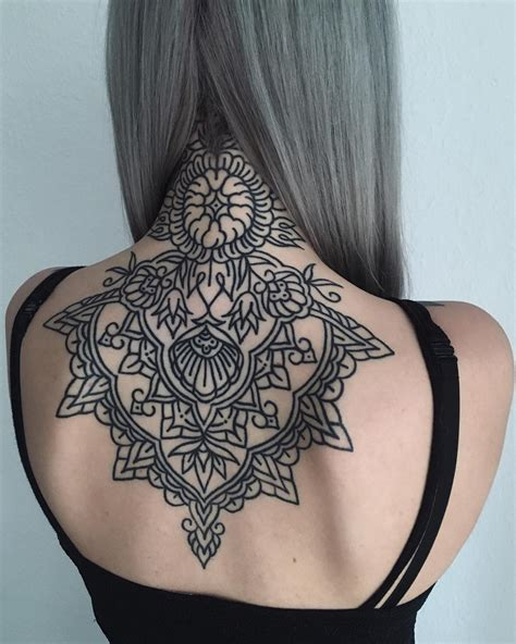 geometric tattoos ideas ninja cosmico