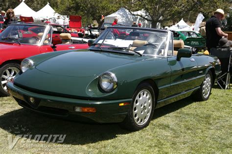1992 Alfa Romeo Spider Information