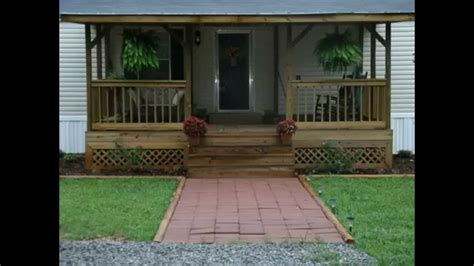 Front Deck Ideas For Ranch Style Homes