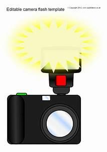 Editable Camera Flash Templates  Sb8995