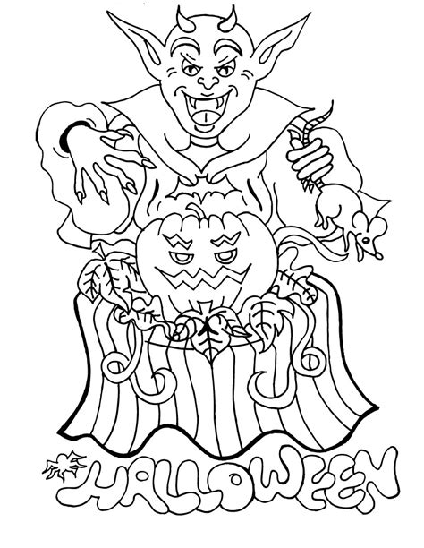 printable halloween free printable coloring pages for