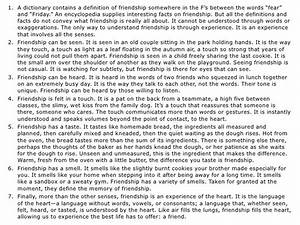 Essay Mahatma Gandhi English Qualities Of A True Friend Essay Sample Sample Narrative Essay High School also High School Essay Help A True Friend Essay My English Class Essay What Is The Definition Of  High School Essays