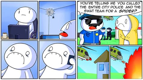 Funny Comics By Theodd1sout Have The Most Unexpected