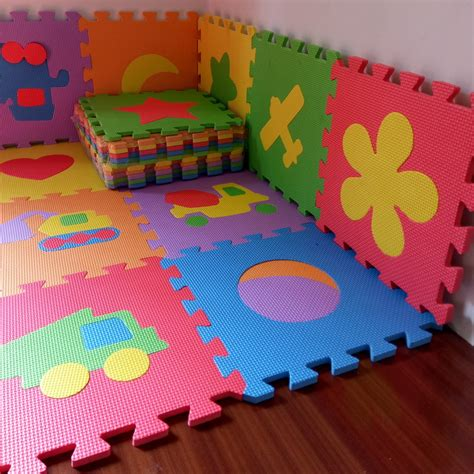 foam floor mats baby 10pcs 30 30cm baby puzzle carpet baby play mat floor