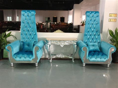 1 seater wedding throne chairs for and groom view