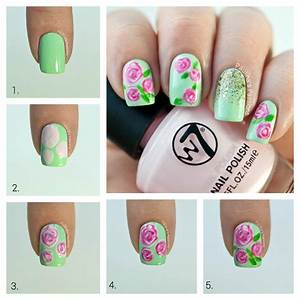 Pin nail art designs for kids step by awesome gel