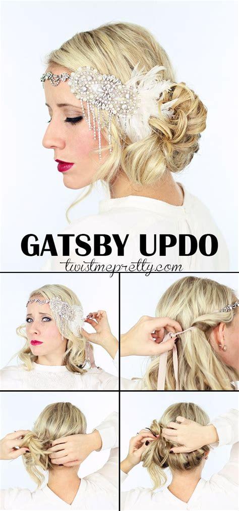 gorgeous gatsby hairstyles  halloween   wedding