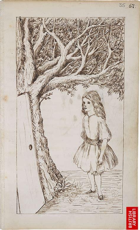 lewis carrolls original illustrations  alices adventures  wonderland  flashbak