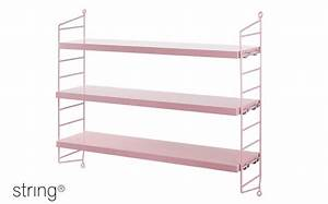 Etagere Murale Enfant : etag re murale enfant string pocket etag res modulables design rose par string ~ Teatrodelosmanantiales.com Idées de Décoration