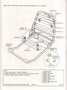Seat Frame And Squab Assemblies