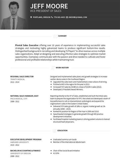 Corporate Cv Template by Cv Templates Bayt