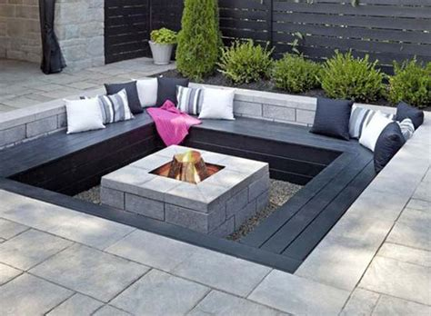 awesome sunken fire pit ideas  steal  cozy nights