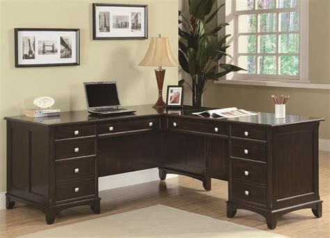 Product Of The Week A Desk L With A Mid Air Suspended Switch by Coaster Garson L Shaped Desk With 8 Drawers Value City