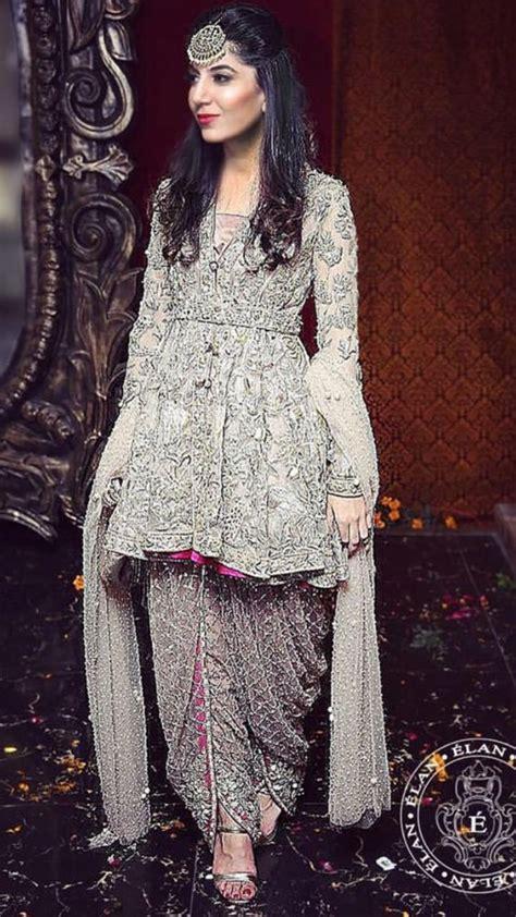 Latest Pakistani Short Frocks Peplum Tops Styles & Designs ...