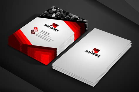 Free Real Estate Business Card Template, Photoshop Real Business Card Visual Artist Best App Free Templates Avery 27883 In Ai Durable Visifix A4 Album Video Template C32015 Makeup Samples