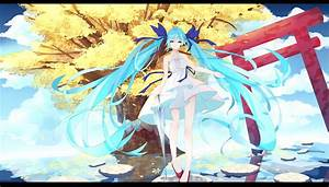 Hatsune, Miku, Vocaloid, Dress, Twintails, Wallpapers, Hd, Desktop, And, Mobile, Backgrounds