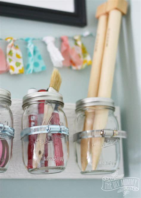 make hanging mason jar craft storage 12monthsofdiy the