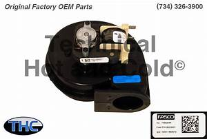 Lennox 80c93 Draft Inducer Motor Assembly