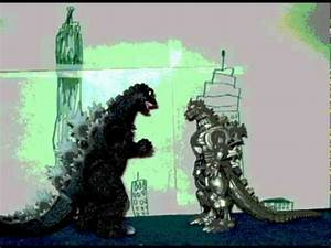 Godzilla vs. Mechagodzilla Toys Stop Motion - YouTube