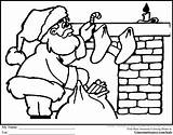 Coloring Pages Santa Christmas Colouring Truth Sojourner Colour Fireplace Chimneys Parade Printable Imagine Claus Mrs Area Sleigh Gingerbread Getdrawings Them sketch template
