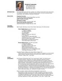 high senior resume for college sle college math teacher resume sales teacher lewesmr