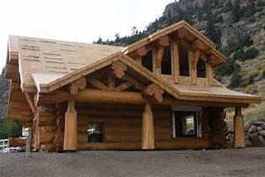chalet en fustechalet en rondinchalet en boismaison en With prix maison en rondin 5 electroneutre les maisons en bois