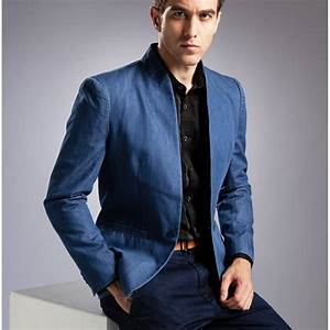 Mens Blazer With Jeans - Hardon Clothes