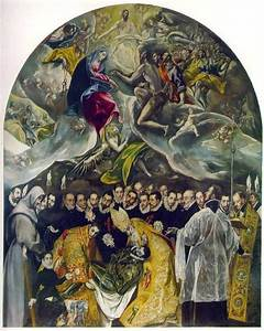 The Burial of the Count of Orgaz by El Greco – my daily ...