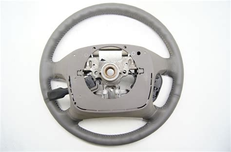 toyota steering wheel toyota camry 2002 2004 grey leather steering wheel with