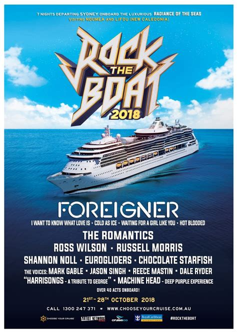 Rock This Boat by Choose Your Cruise