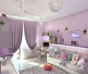 Coole Mädchen Zimmer : teenager zimmer m dchen ideen hell lila ~ Michelbontemps.com Haus und Dekorationen