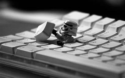 Tech Wallpapers Keyboard Cool Computer Stormtrooper Lego