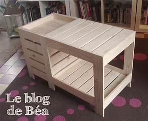 Table En Palette : diy table basse en bois de palette avec coffre de ~ Melissatoandfro.com Idées de Décoration