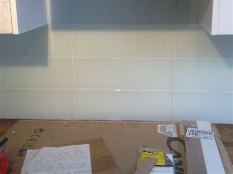 glass instead of tiles in kitchen glass tiles all tiling 8313