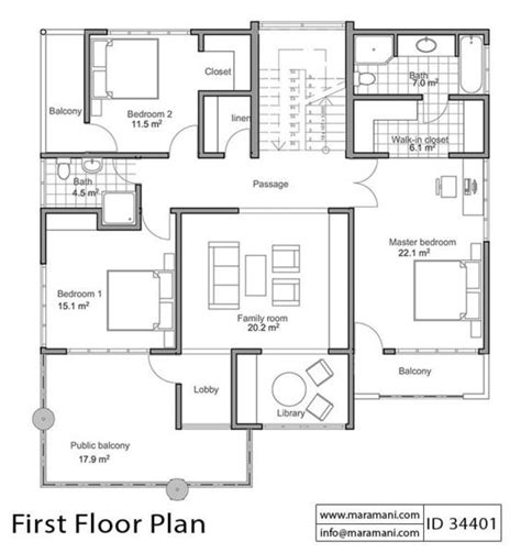 bedroom house  sloping ground id
