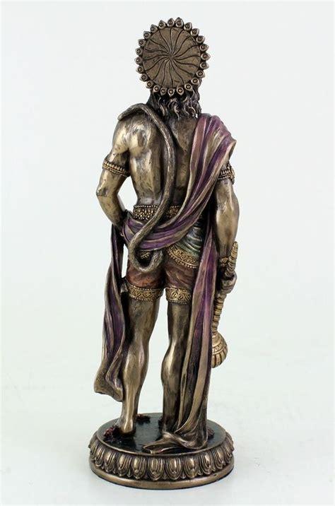 hindu monkey god  strength perseverance  devotion statue