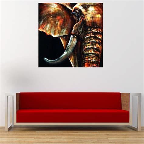 wall decor 50x50cm modern abstract elephant wall decor