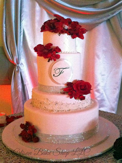 elegant custom wedding cakes elegance glamour wedding