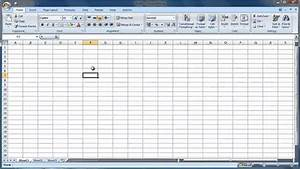 Excel 2007 Overview Guide - Part 1 - The Worksheet