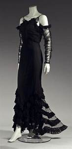 "ephemeral-elegance: Tulle ""Gypsy"" Evening Dress, ca. 1933 ..."