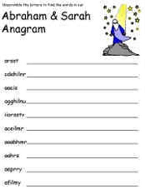 dltks bible anagrams