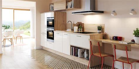 cuisine ilot central design les avantages d 39 une cuisine blanche