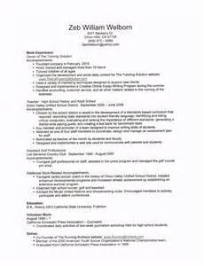 describe tutoring on resume zeb welborn s resume the tutoring solution