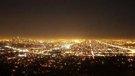 los angeles city lights pics