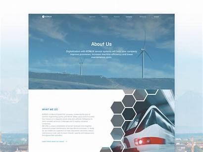 Website Corporate Examples Successful Unique Iiot Animation
