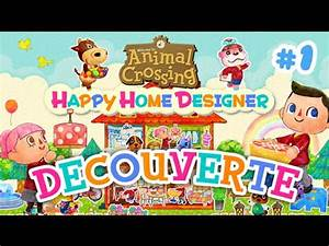 Animal Crossing Happy Home Designer Youtube Animal Crossing Happy Home Designer Découverte Du Jeu