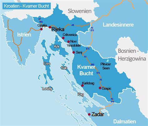 kvarner bucht kroatien reisefuehrer kroatide