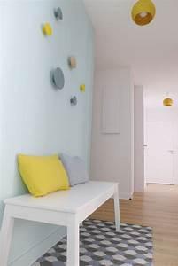 17 meilleures idees a propos de gris bleu jaune sur With canapé convertible maison du monde avec tapis long couloir