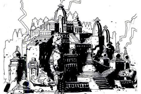 Mike Mignola Disney Atlantis Concept Art | The Mary Sue